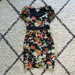 Moulinette Soeurs Pittore silk blend floral dress